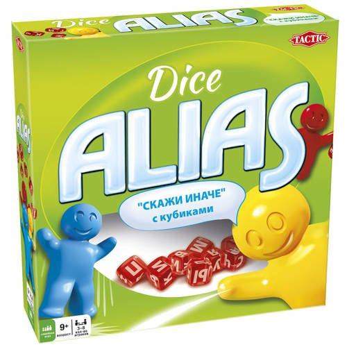 Настольная игра Alias с кубиками настольная игра alias скажи иначе компактная версия 2