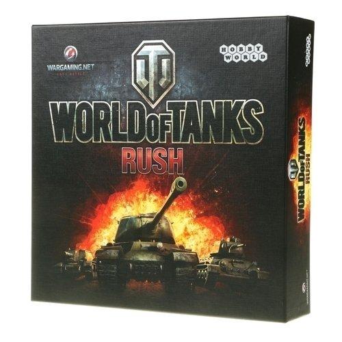 Настольная игра World of Tanks Rush настольная игра hobby world world of tanks победители 1596