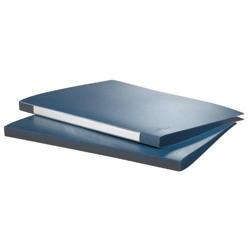 Папка с прижимным механизмом А4 синяя папка скоросшиватель с европланкой ф а4 синяя