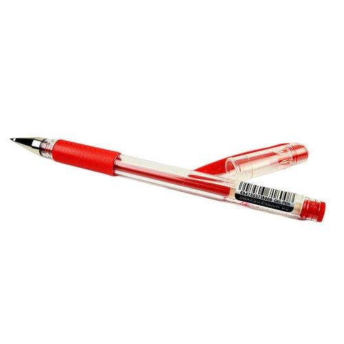 Ручка гелевая Q7, 0,5 мм, красная ручка гелевая g11 0 5мм 6шт асс pvc 0306073