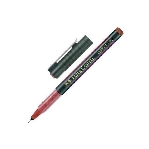 Капиллярная ручка Vision, 0,3 мм, красная ручка капиллярная