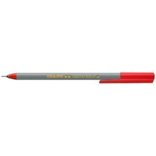 Ручка капиллярная Edding 55 Fineliner, 0,3 мм, красная ручка капиллярная