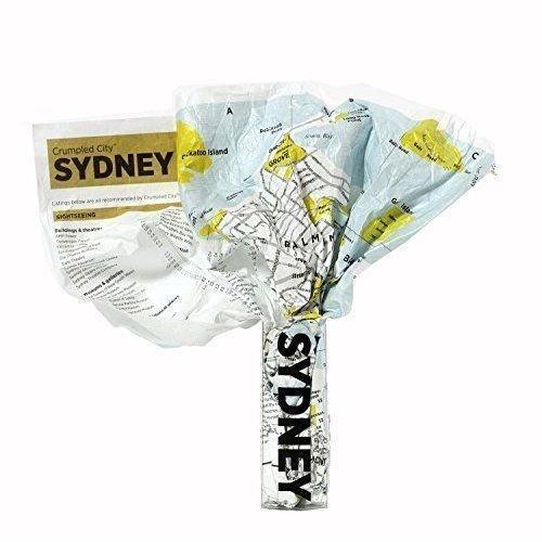 Мятая карта Сидней
