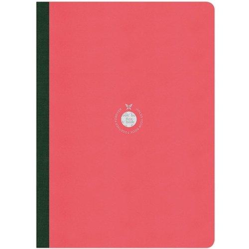 Блокнот в линейку Flexbook А4 розовый блокнот lucie animals а4 22 листа в линейку
