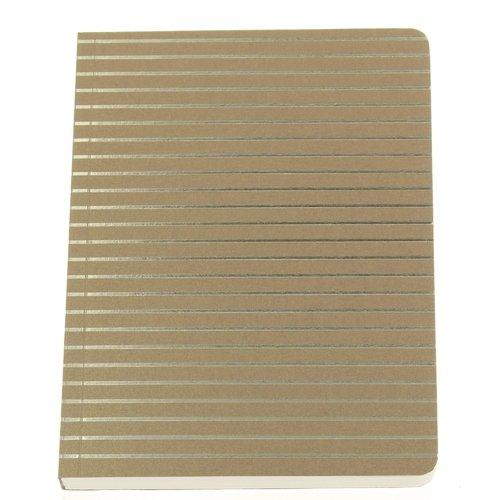 Блокнот Shimmer А6 золотые полосы блокнот shimmer а6 кремовый горох