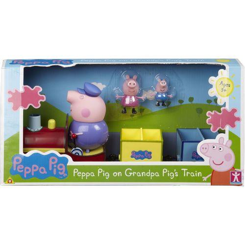 Игровой набор «Паровозик дедушки Пеппы»