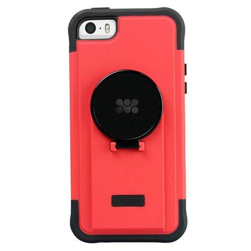 "Накладка для iPhone 5/5S ""Ride"", красная booratino деревянная накладка для iphone 5 5s орех"