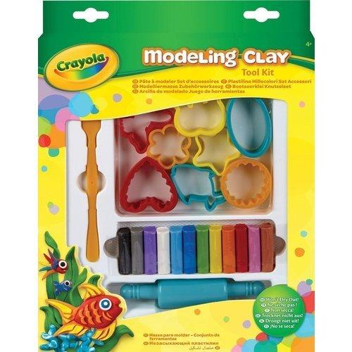 Набор с незасыхающим пластилином playgo набор с пластилином и аксессуарами в корзине 8750