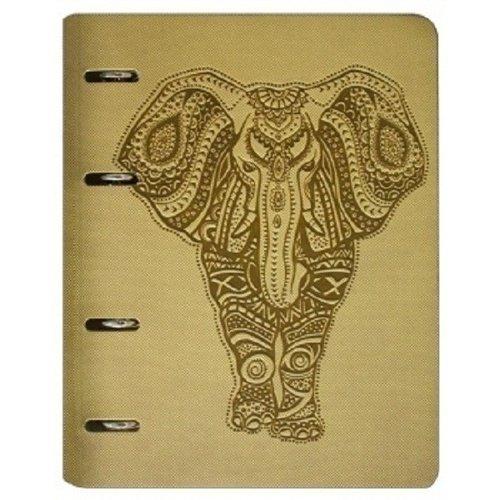 """Папка для сменного блока с кольцевым механизмом """"Elephant"""" А5"""