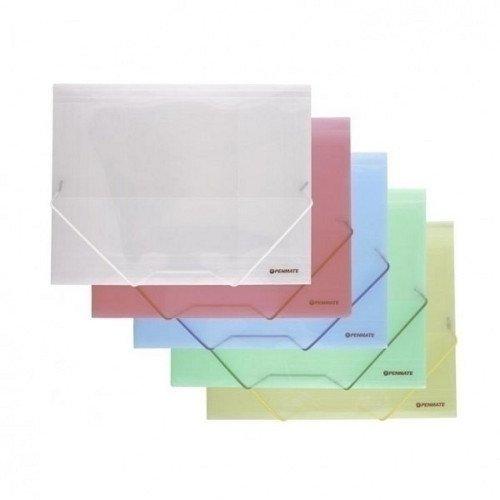 Папка на резинке А4 albion папка на резинке basic цвет зеленый