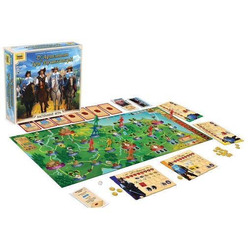 Настольная игра Д'артаньян и три мушкетера игорь бунич д артаньян из нквд