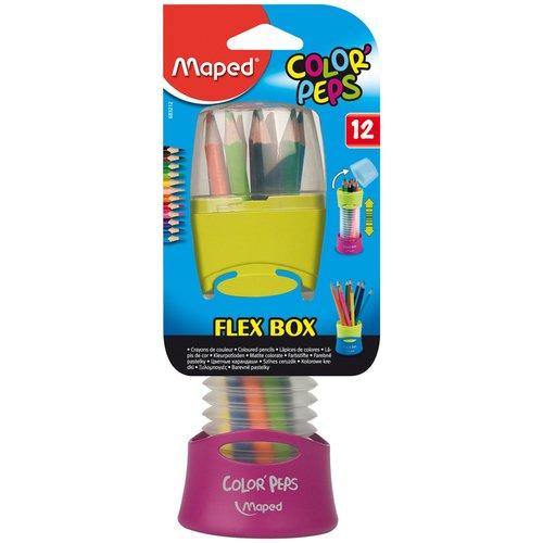Карандаши цветные Color Peps, 12 цветов цветные карандаши stabilo 12 цветов