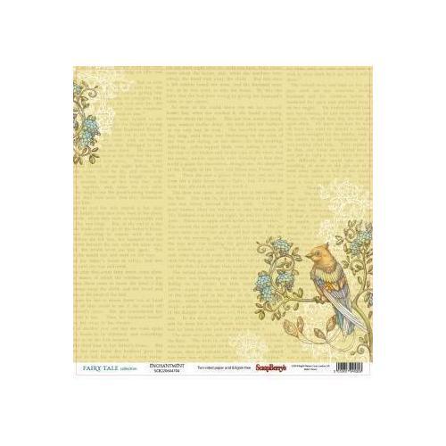 Бумага для скрапбукинга Сказка про фей. Волшебство бумага для скрапбукинга 30 5х30 5 см 180 гр м двусторон сказка про фей сказка