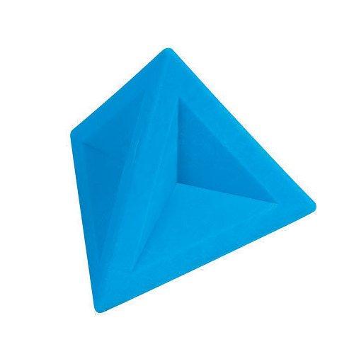 Ластик треугольный голубой
