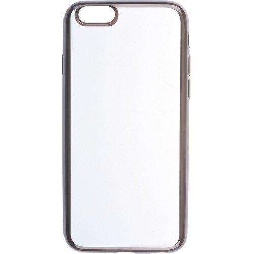 """все цены на Накладка """"Silicone chrome border 4People"""" для iPhone 6/6S, черная онлайн"""