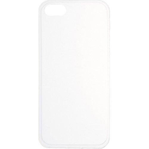 "Накладка для iPhone 5S ""Slim silicone"", прозрачная booratino деревянная накладка для iphone 5 5s орех"
