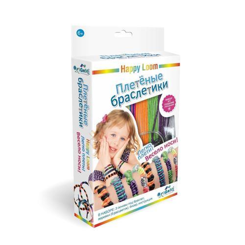 Набор Плетеные браслетики набор браслетики семицветики