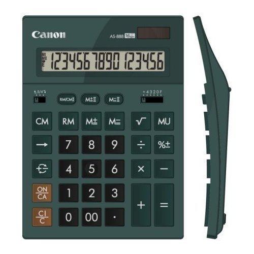 Калькулятор бухгалтерский AS-888-DGR изумрудный калькулятор бухгалтерский as 888 gr зеленый