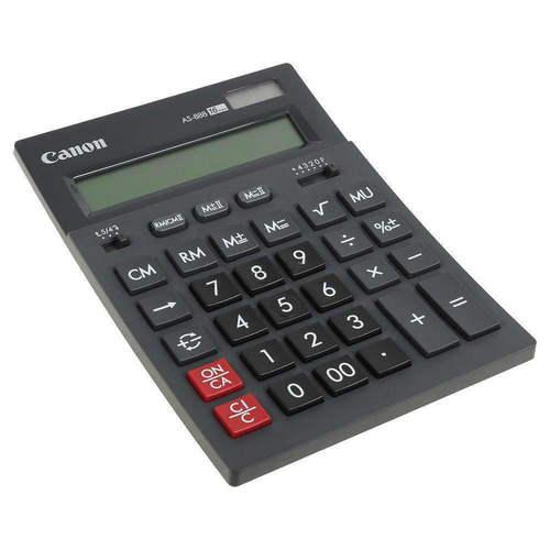 Калькулятор бухгалтерский AS-888 черный калькулятор canon as 280