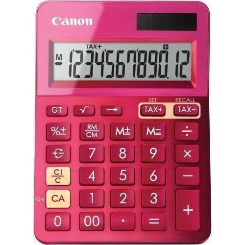 """Калькулятор настольный """"LS-123K-MPK"""", розовый"""