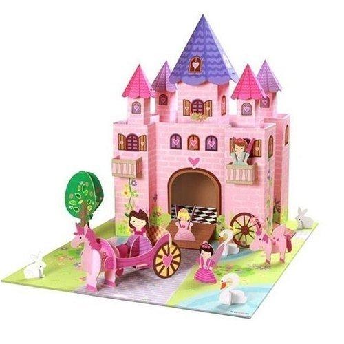 """Набор """"Замок принцессы Тринни"""" krooom игрушки из картона набор замок принцессы тринни k 219"""