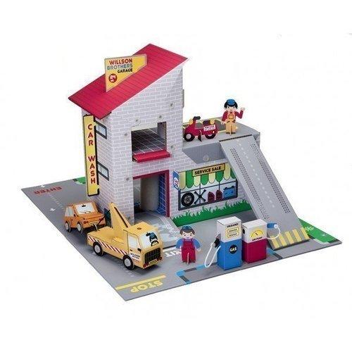 Набор Гараж братьев Вилсон krooom игрушки из картона 3d набор сказочное дерево k 327