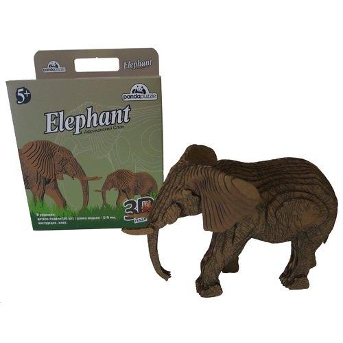"""Пазл 3D """"Слон"""", 60 элементов nanoblock африканский слон 130 элементов"""