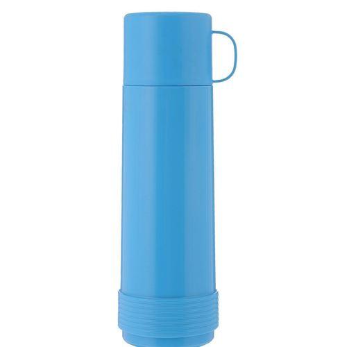 Термос со стеклянной колбой 6122/139, 750 мл, голубой термос со стеклянной колбой 6121 139 500 мл голубой