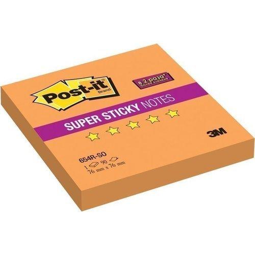 """Блок-кубик """"Super Sticky"""" оранжевый цены онлайн"""