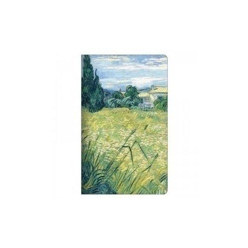 Тетрадь на скрепке в клетку Van Gogh А6 тетрадь в клетку vangogh