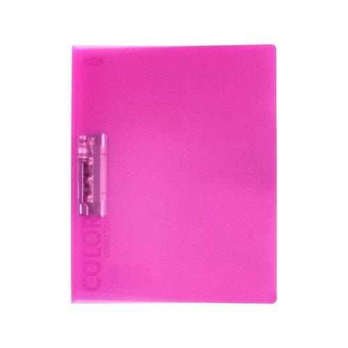 "Пластиковая папка с зажимом ""Color Collection"" розовая нож с зажимом 25 мм irwin 10508136"