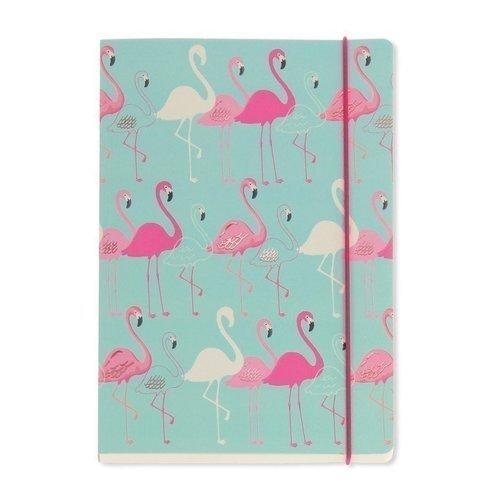 """Блокнот """"Flamingo"""" А5, 96 листов, в линейку"""