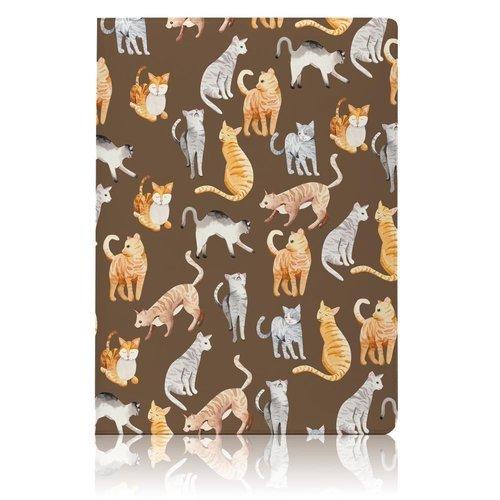 Обложка для паспорта Cat Pattern обложка для паспорта bird pattern