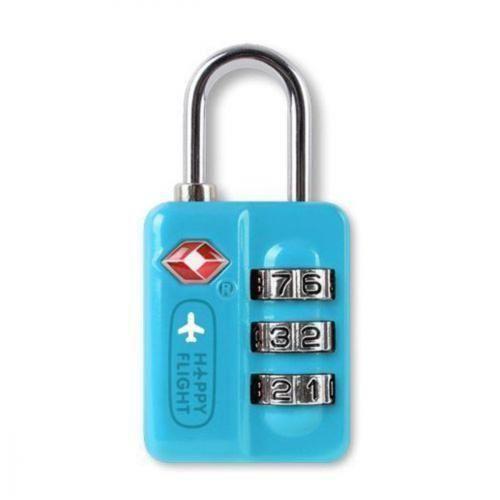 Замок для багажа TSA HF-043 голубой электроприбор donolux hf 350w 24