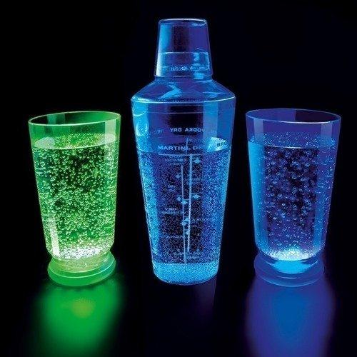 Набор LED-стаканов для соков и коктейлей, 3 шт. набор led стаканов для соков и коктейлей 3 шт