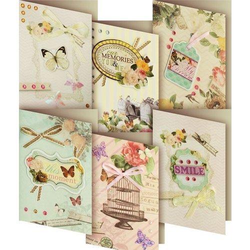 """Набор для создания 6-ти мини-открыток """"Подарочный"""" Белоснежка"""