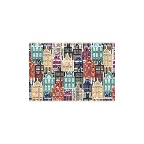 Альбом для рисования Разноцветные домики А4 механизм двойного слива хром azzurra b19002f 40 cr