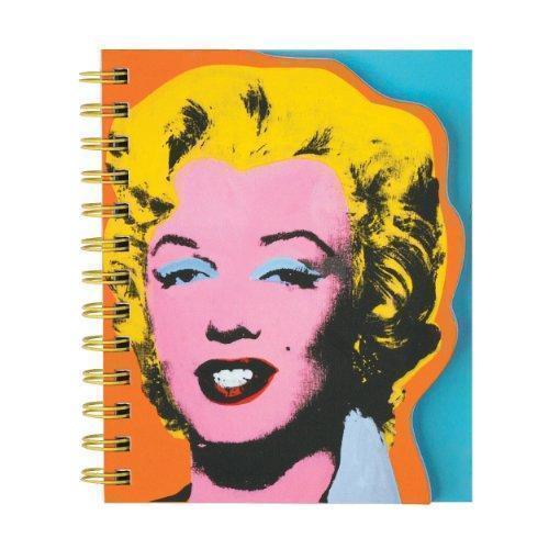 Блокнот в линейку Andy Warhol. Marilyn блокнот в линейку andy warhol soup can