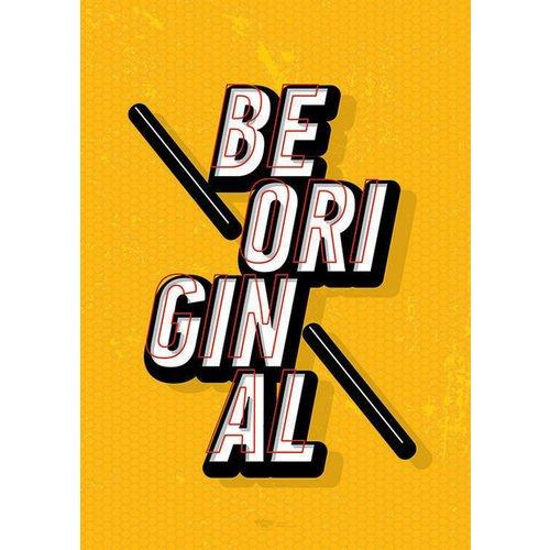 """Принт """"Be Original"""" А4"""