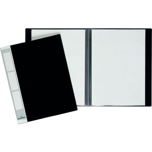 цена на Папка Duralook Display А4, 20 файлов, 21 х 30 см, черная