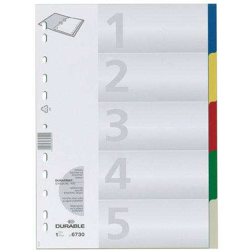 Разделитель А4, цветной разделитель картонный цифровой 1 31 ф а4 цветной