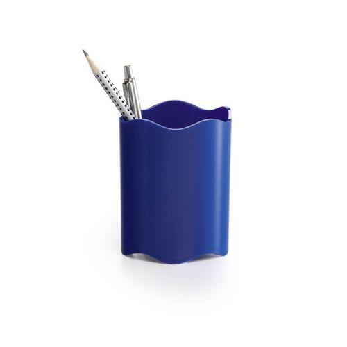 Стакан для хранения письменных принадлежностей синий