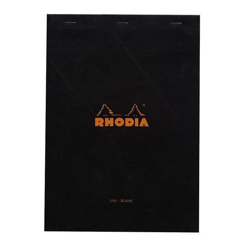 купить Блокнот с микроперфорацией нелинованный А4, 80 листов, черный онлайн