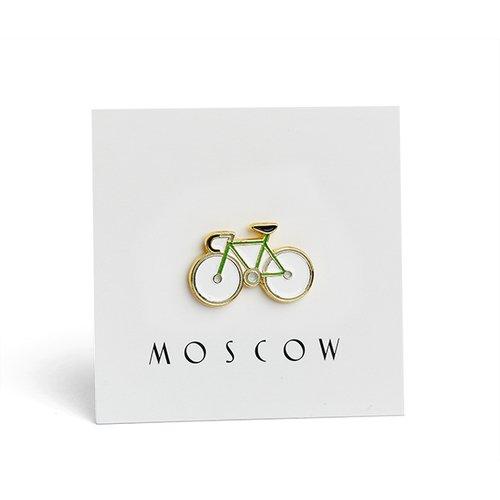 """Значок металлический """"Велосипед"""""""