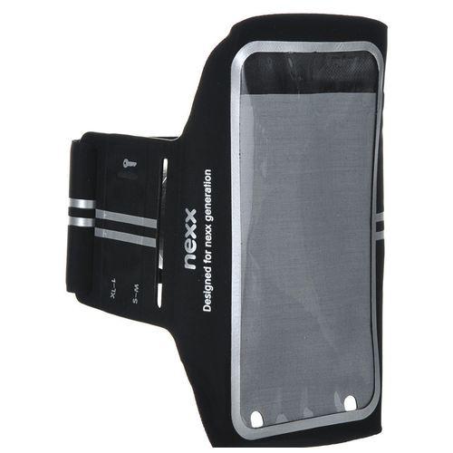 """Спортивный наручный чехол для сматрфонов до 5,5"""" SP-AL-02-BK черный все цены"""