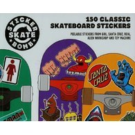 Stickerbomb Skate. 150 Classic Skateboard Stickers