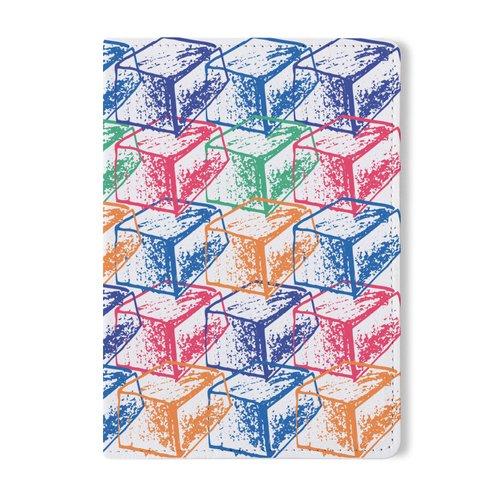 """Обложка для паспорта """"Кубы"""", 10 х 13 см"""