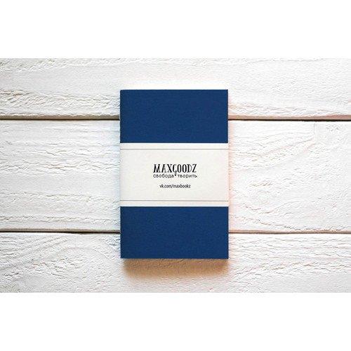 Скетчбук Pocket синий A6