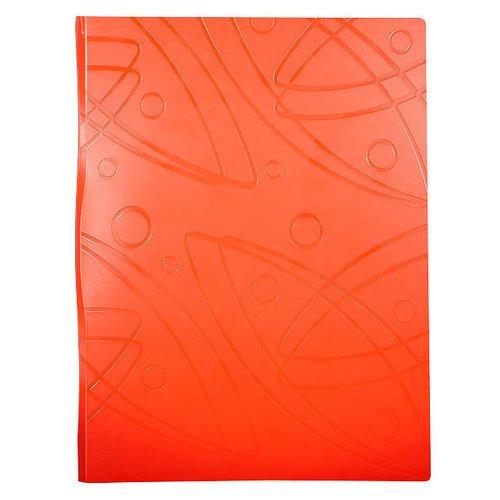 Папка с 60 прозрачными вкладышами GA60or А4 оранжевая berlingo папка diamond с 30 вкладышами цвет зеленый