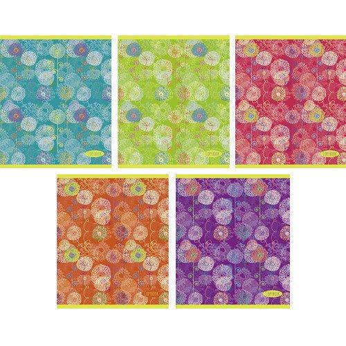 Тетрадь в клетку Удивительные цветы А5 тетрадь любимые цвета а5